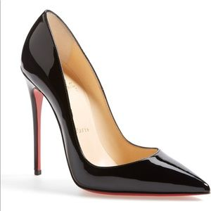 Kate pumps with red protective sole